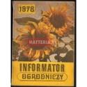 INFORMATOR OGRODNICZY 1978 [antykwariat]