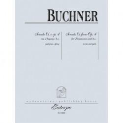 Philipp Friedrich Buchner SONATA IX Z OP. 4 NA 2 FAGOTY i B.C.