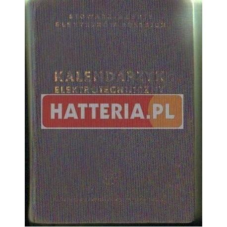 KALENDARZYK ELEKTROTECHNICZNY 1954-1955 [antykwariat]