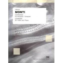 CZARDASZ NA SKRZYPCE I FORTEPIAN Victor Monti