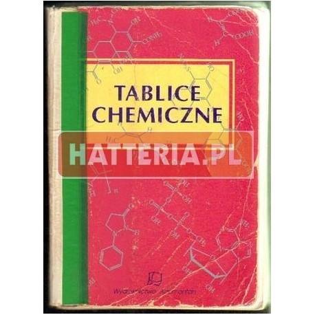 Witold Mizerski TABLICE CHEMICZNE [antykwariat]