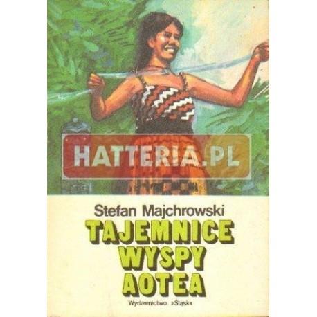 Stefan Majchrowski TAJEMNICE WYSPY AOTEA [antykwariat]