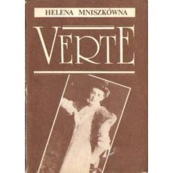 Helena Mniszkówna VERTE [antykwariat]