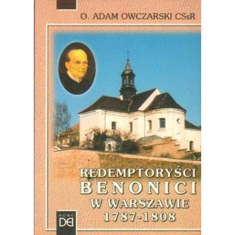 Adam Owczarski REDEMPTORYŚCI BENONICI W WARSZAWIE 1787-1808 [antykwariat]