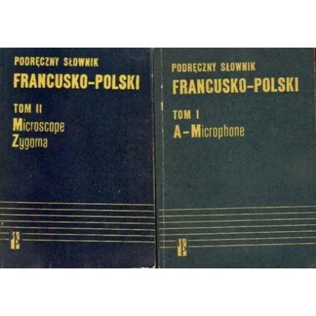 Kazimierz Kupisz, Bolesław Kielski PODRĘCZNY SŁOWNIK FRANCUSKO-POLSKI. 2 TOMY [antykwariat]