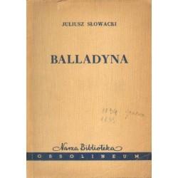 Juliusz Słowacki BALLADYNA [antykwariat]