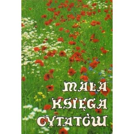 Halina Lipiec (red.) MAŁA KSIĘGA CYTATÓW [antykwariat]