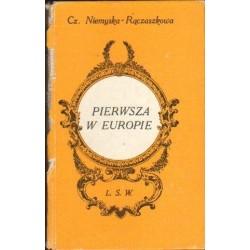 Czesława Niemyska-Rączaszkowa PIERWSZA W EUROPIE [antykwariat]