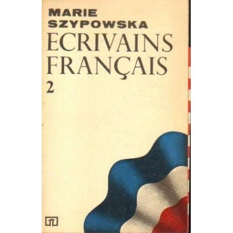 Marie Szypowska ECRIVAINS FRANCAIS 2 [antykwariat]