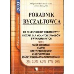 Małgorzata Borkiewicz-Liszka, Monika Beliczyńska PORADNIK RYCZAŁTOWCA [antykwariat]