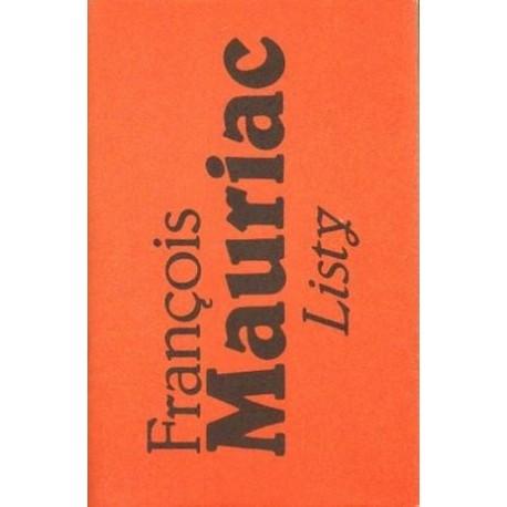 Francois Mauriac LISTY 1904-1969 [antykwariat]