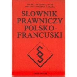 SŁOWNIK PRAWNICZY POLSKO-FRANCUSKI [antykwariat]