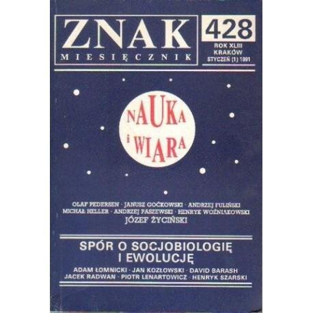 ZNAK. NR 428. ROK XLIII. STYCZEŃ (1) 1991 [antykwariat]