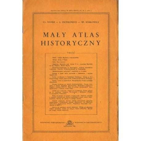 MAŁY ATLAS HISTORYCZNY [antykwariat]