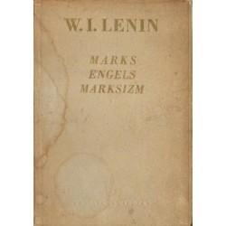 W. I. Lenin MARKS, ENGELS, MARKSIZM [antykwariat]