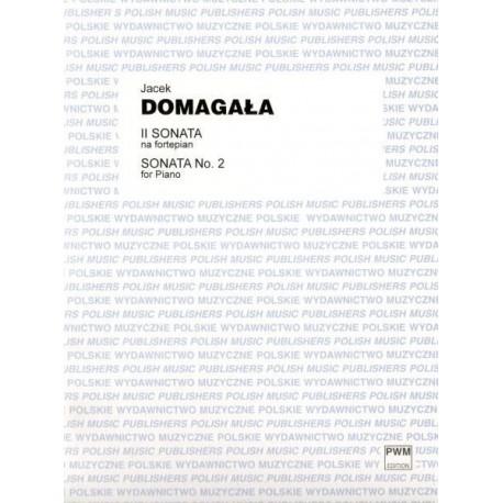 II SONATA NA FORTEPIAN Jacek Domagła