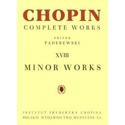 DROBNE UTWORY NA FORTEPIAN Fryderyk Chopin