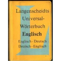 UNIVERSAL-WORTERBUCH ENGLISCH [antykwariat]