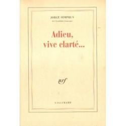 Jorge Semprun ADIEU, VIVE CLARTE...[antykwariat]