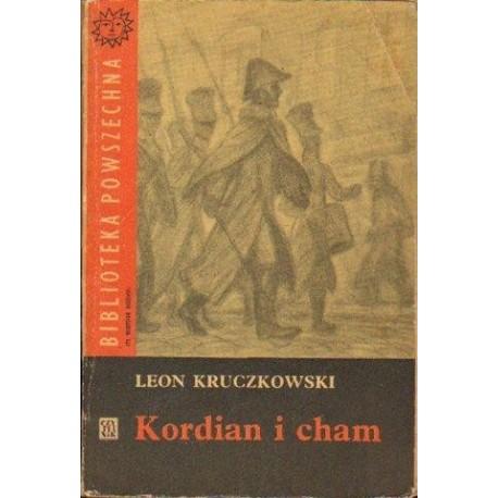 Leon Kruczkowski KORDIAN I CHAM [antykwariat]