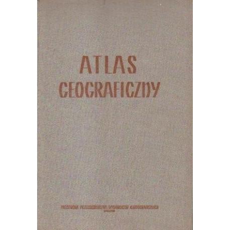 ATLAS GEOGRAFICZNY [antykwariat]