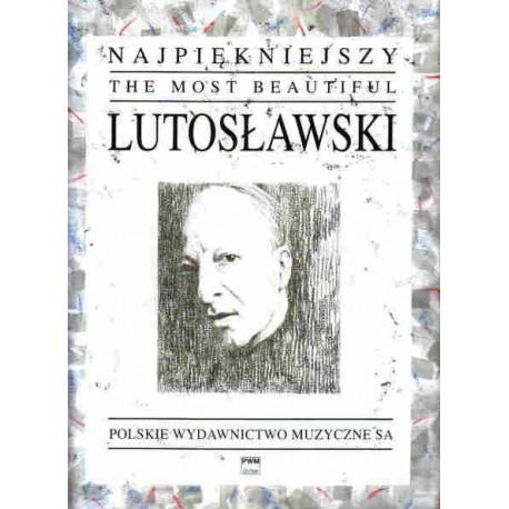 NAJPIĘKNIEJSZY LUTOSŁAWSKI NA FORTEPIAN Witold Lutosławski