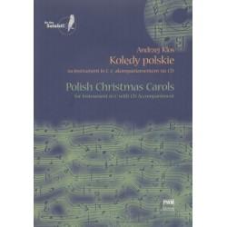 KOLĘDY POLSKIE NA INSTRUMENT IN C Z AKOMPANIAMENTEM NA CD Andrzej Klos