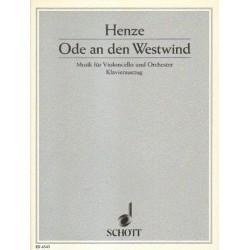 Hans Werner Henze ODE AN DEN WESTWIND