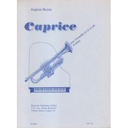 Eugene Bozza CAPRICE POUR TROMPETTE EN UT OU SIB ET PIANO [antykwariat]