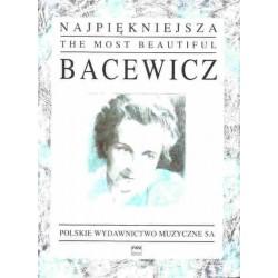 NAJPIĘKNIEJSZA BACEWICZ NA SKRZYPCE I FORTEPIAN Grażyna  Bacewicz