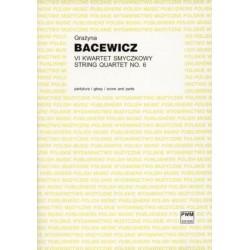VI KWARTET SMYCZKOWY Grażyna Bacewicz