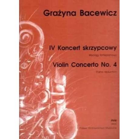 IV KONCERT SKRZYPCOWY Grażyna  Bacewicz