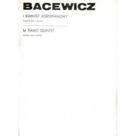Grażyna Bacewicz I KWINTET FORTEPIANOWY