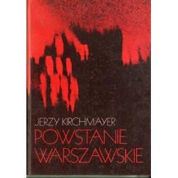 Jerzy Kirchmayer POWSTANIE WARSZAWSKIE [antykwariat]