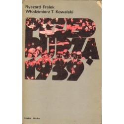 Ryszard Frelek, Włodzimierz T. Kowalski PRZED BURZĄ 1939 [antykwariat]