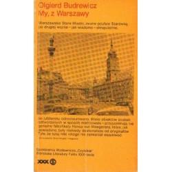 Olgierd Budrewicz MY, Z WARSZAWY [antykwariat]
