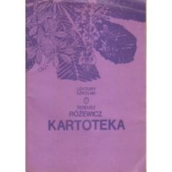 Tadeusz Różewicz KARTOTEKA [antykwariat]
