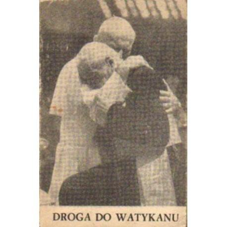 Mieczysław Maliński DROGA DO WATYKANU [antykwariat]