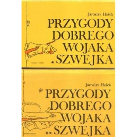 Jaroslav Hasek PRZYGODY DOBREGO WOJAKA SZWEJKA. TOM 1-4 [antykwariat]