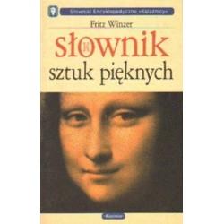 Fritz Winzer SŁOWNIK SZTUK PIĘKNYCH [antykwariat]