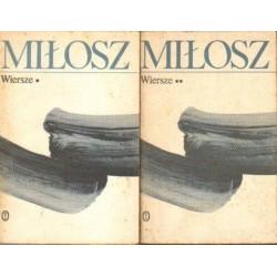 Czesław Miłosz WIERSZE. TOM 1-2 [antykwariat]