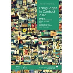LANGUAGES IN CONTACT VOL. 1: LANGUAGES IN CONTACT 2012
