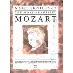 Wolfgang Amadeus Mozart NAJPIĘKNIEJSZY MOZART NA FORTEPIAN