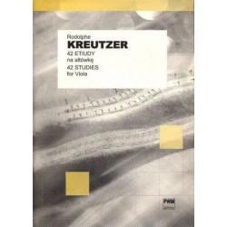 42 ETIUDY NA ALTÓWKĘ Rodolphe Kreutzer