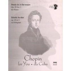 ETIUDA AS-DUR OP. 25 NR 1 NA FORTEPIAN Fryderyk Chopin