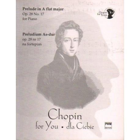 Fryderyk Chopin PRELUDIUM AS-DUR OP. 28 NR 17 NA FORTEPIAN. WYCIĄG FORTEPIANOWY