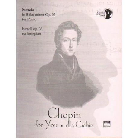 Fryderyk Chopin SONATA B-MOLL OP. 35 NA FORTEPIAN. WYCIĄG FORTEPIANOWY