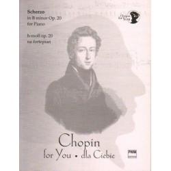 Fryderyk Chopin SCHERZO H-MOLL OP. 20 NA FORTEPIAN. WYCIĄG FORTEPIANOWY