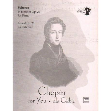 SCHERZO H-MOLL OP. 20 NA FORTEPIAN Fryderyk Chopin