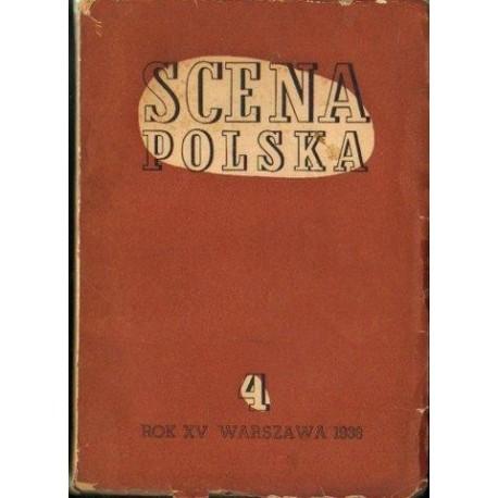 SCENA POLSKA. ZESZYT 4. ROK XV (1938) [antykwariat]